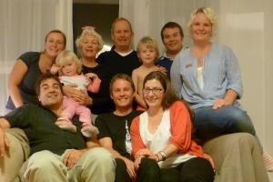 unsere neuseeländische Familie - danke für alles!